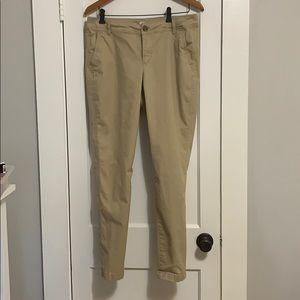 Old Navy pants, skinny khakis, 29 in. Inseam